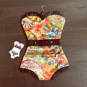 NWT PurseN sexy lingerie travel bag w/hanging hook